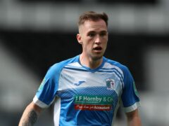 Barrow's Josh Kay scored the equaliser against Newport (PA)