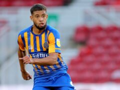 Shrewsbury forward Rekeil Pyke has returned to training following 10 days away after testing positive for Covid-19 (Richard Sellers/PA)