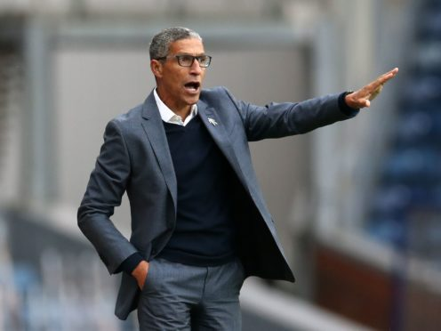 Chris Hughton has left his role at Nottingham Forest (Barrington Coombs/PA)