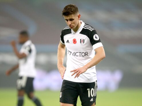 Fulham's Tom Cairney remains on Marco Silva's long-term injury list (Julian Finney/PA)