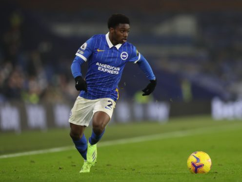 Brighton defender Tariq Lamptey has been out with a serious hamstring problem (Naomi Baker/PA)