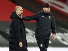 Southampton manager Ralph Hasenhuttl (right) feels Pep Guardiola's Manchester City side have got it all (Paul Childs/PA)
