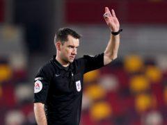 Referee Jarred Gillett (John Walton/PA)