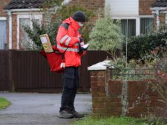 Royal Mail headed the FTSE 100 on Monday (Gareth Fuller/PA)