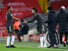 Anthony Martial and Edinson Cavani could find their places in jeopardy (Michael Regan/PA)