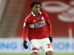 Middlesbrough's Djed Spence has joined Nottingham Forest on a season-long loan deal (Martin Rickett/PA)