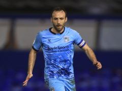 Coventry's Liam Kelly is close to a return (Mike Egerton/PA)