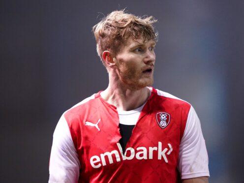 Michael Smith scored twice as Rotherham beat AFC Wimbledon (Zac Goodwin/PA)