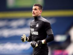 Newcastle goalkeeper Karl Darlow has not played this season after contracting coronavirus (Nick Potts/PA)