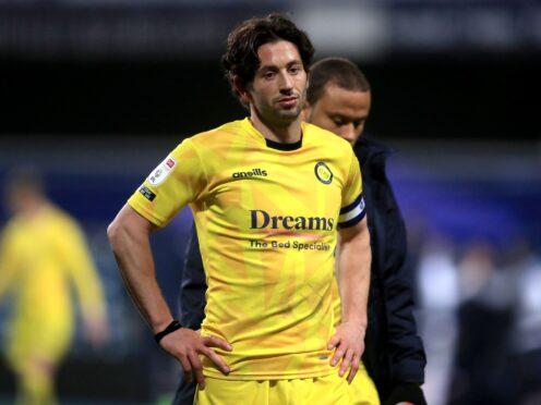 Joe Jacobson scored for Wycombe (Adam Davy/PA)