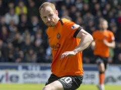 Dundee United's Mark Reynolds is ready for the Dundee derby (Jeff Holmes/PA)