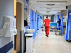Concerns are growing around the NHS backlog (PA)