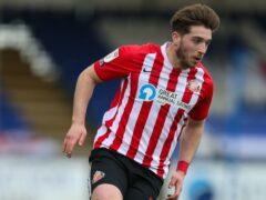 Lynden Gooch is unlikely to feature for Sunderland against Cheltenham (Steven Paston/PA)