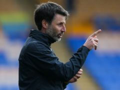 Portsmouth manager Danny Cowley has seen his side go three league games without a goal (Barrington Coombs/PA)