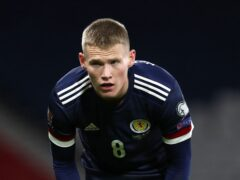 Manchester United's Scott McTominay is back for Scotland (Andrew Milligan/PA)