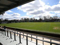 Harrogate hosted Stevenage (Nigel French/PA)