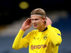 Erling Haaland could be heading to England (Nick Potts/PA)