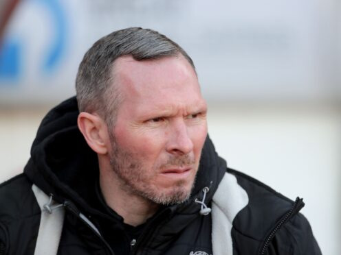 Lincoln boss Michael Appleton was delighted his side hung for a win at Burton (Richard Sellers/PA Images).