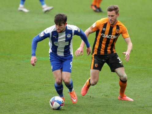 Callum Lang struck for Wigan (Richard Sellers/PA)