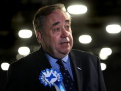 The former first minister was speaking at his party's inaugural conference on Saturday (Andrew Milligan/PA)