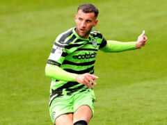 Forest Green defender Baily Cargill has an ankle injury (Tim Markland/PA)