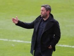 Lee Johnson's Sunderland put five goals past Cheltenham (Richard Sellers/PA)