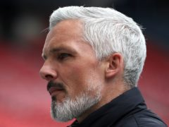 St Mirren manager Jim Goodwin is preparing for Saturday's game with Dundee United (Andrew Milligan/PA)