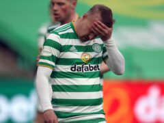 Leigh Griffiths is on loan from Celtic (Andrew Milligan/PA)