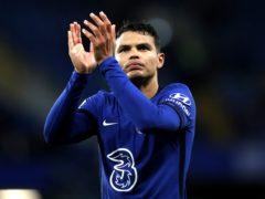 Chelsea hope Thiago Silva will be available to face Aston Villa (Peter Cziborra/PA)