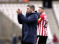 Sunderland manager Lee Johnson says his side still have plenty of room for improvement (Owen Humphreys/PA)