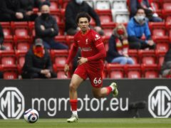 Liverpool manager Jurgen Klopp questioned England boss Gareth Southgate's decision to play Trent Alexander-Arnold in midfield (Phil Noble/PA)