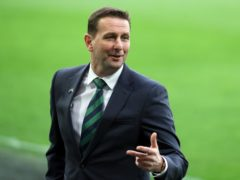 Ian Baraclough wants to see players force their way into his thinking on Sunday night (Brian Lawless/PA)