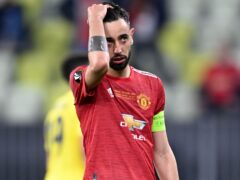 Bruno Fernandes has vowed Manchester United will improve (Rafal Oleksiewicz/PA)