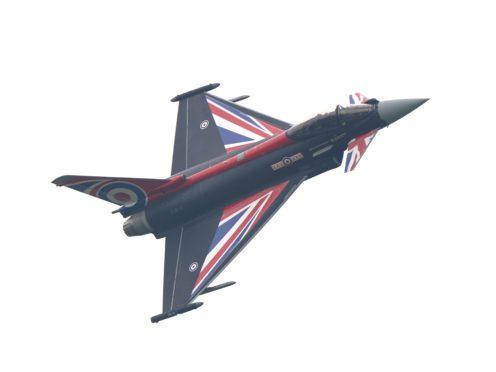 A Eurofighter Typhoon (Joe Giddens/PA)