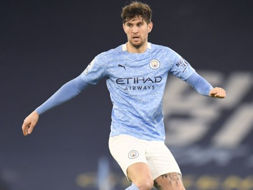 John Stones is sidelined for Manchester City (Dave Thompson/PA)