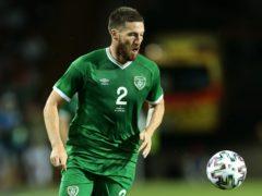 Republic of Ireland defender Matt Doherty is targeting a first Group A victory against Azerbaijan (Trenka Attila/PA)
