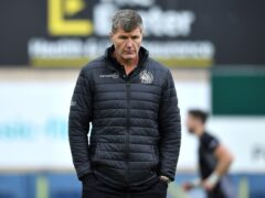 Rob Baxter's Exeter have begun the new Gallagher Premiership season with successive losses (Ashley Western/PA)