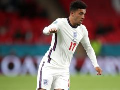 """Jadon Sancho missed England's match in Hungary after sustaining a """"minor knock"""" (Nick Potts/PA)."""
