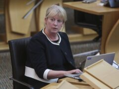 Social Justice Secretary Shona Robison said the end of the £20 uplift would be 'senseless and harmful' (Fraser Bremner/Scottish Daily Mail/PA)