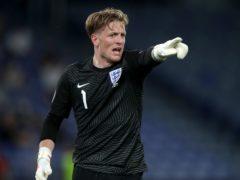 Jordan Pickford enjoyed a strong showing during England's run to the Euro 2020 final. (Nick Potts/PA)