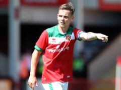 Walsall midfielder Liam Kinsella is set for a spell on the sidelines (Morgan Harlow/PA)