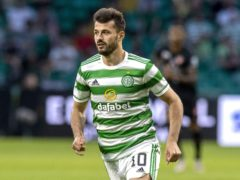 Albian Ajeti was back on the goal trail for Celtic (Jeff Holmes/PA)