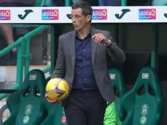 Hibernian manager Jack Ross has admitted frustration on transfer deadline day (Jane Barlow/PA)