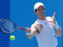 Andy Murray was beaten by Hubert Hurkacz in Metz (PA)