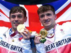 Matty Lee, right, won Olympic gold alongside Tom Daley at Tokyo 2020 (Adam Davy/PA)