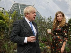 Boris Johnson and Carrie Johnson (The Times/PA)