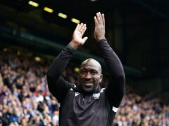 Sheffield Wednesday manager Darren Moore has backed his goalkeeper (Zac Goodwin/PA)