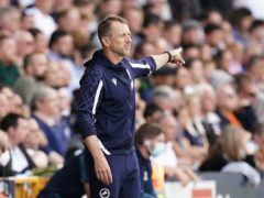 Gary Rowett felt Millwall were fortunate to take a point (Aaron Chown/PA)