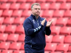 Coventry manager Mark Robins was delighted with his side's win (Richard Sellers/PA)