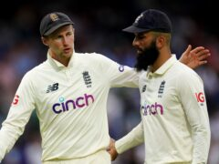Joe Root, left, had warm words for Moeen Ali, who has announced his retirement from Test cricket (Zac Goodwin/PA)